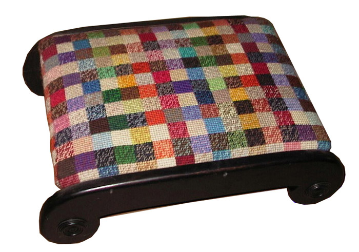 ionic footstool recycled this because of the legs